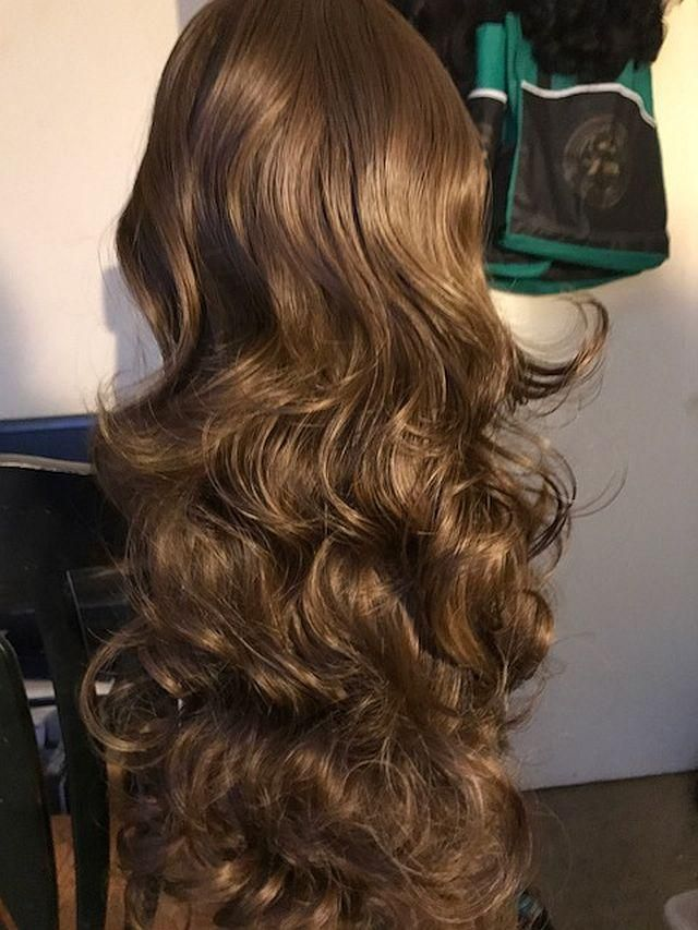 Deep Side Part Body Wave Long Synthetic Wig Black In