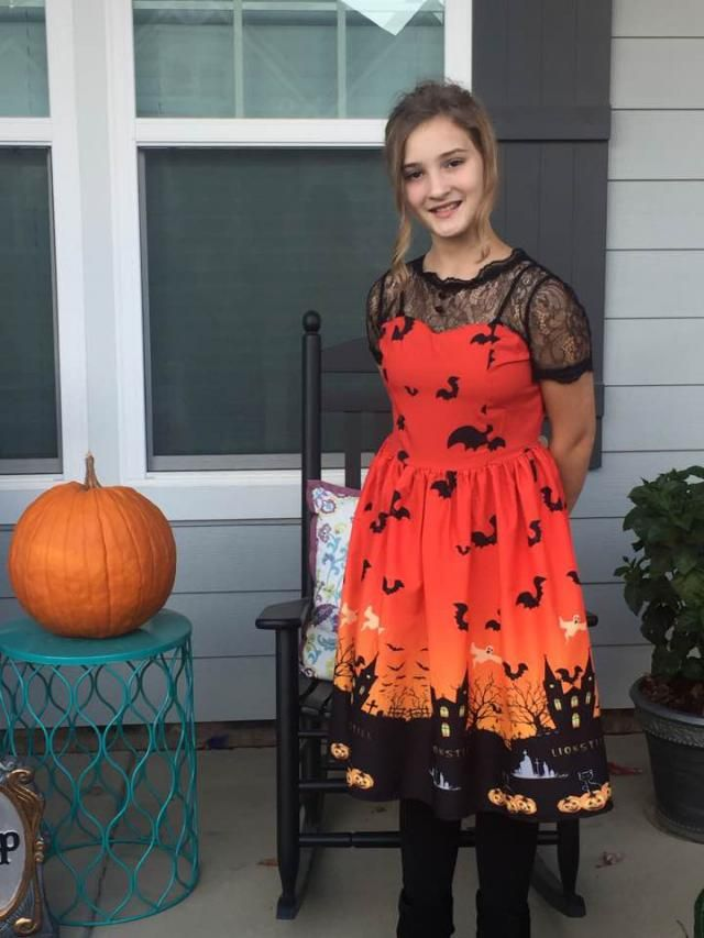 Halloween Vintage Lace Insert Pin Up Dress Purple Xl In